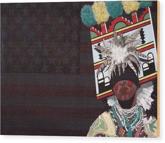 Native Dancer Wood Print