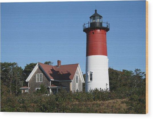 Nauset Lighthouse Wood Print