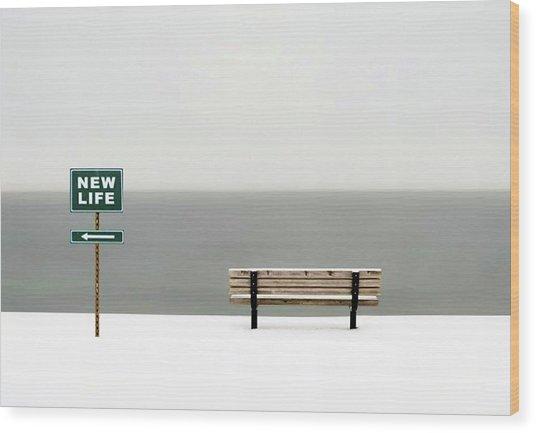New Life Wood Print by Emil Bodourov