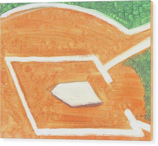 No Place Like Home Wood Print by Jorge Delara