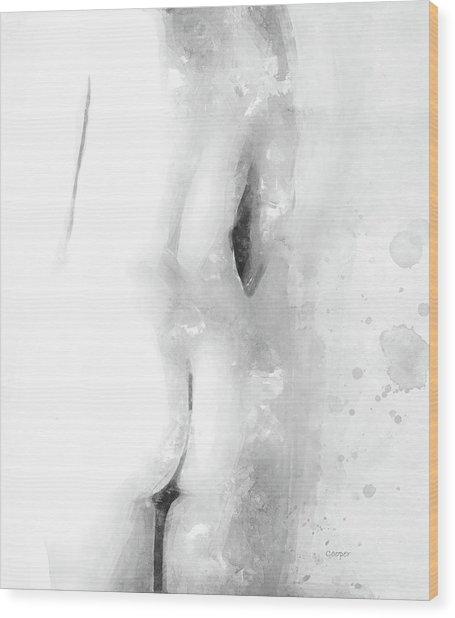 Nude 22c Wood Print