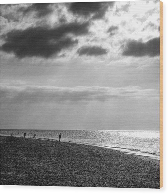 Old Hunstanton Beach, Norfolk Wood Print