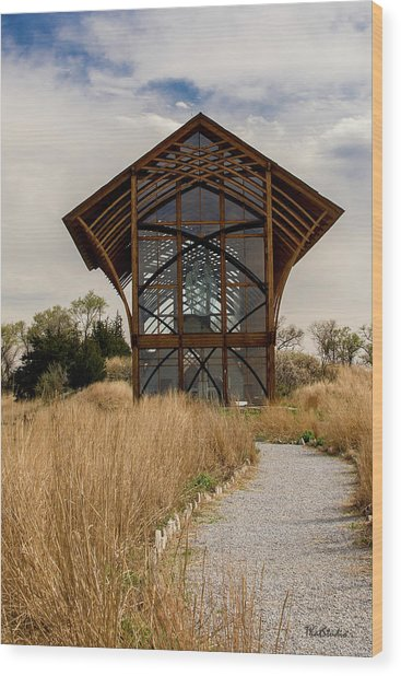 Omaha Holy Family Shrine 2 Wood Print