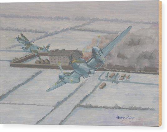 Operation Jericho  Wood Print by Murray McLeod