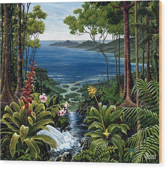 Osa Peninsula Costa Rica Wood Print