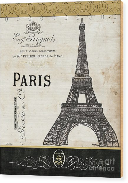 Paris Ooh La La 1 Wood Print