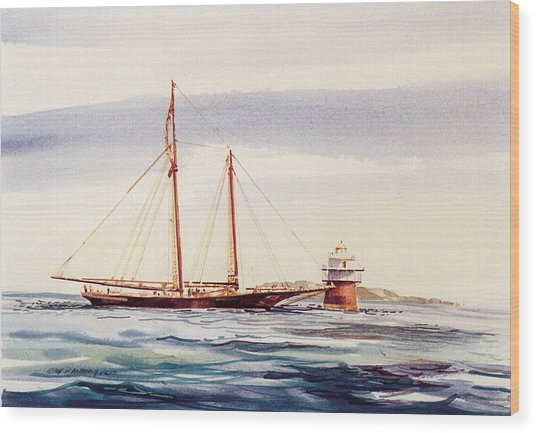 Passing Bug Light Wood Print