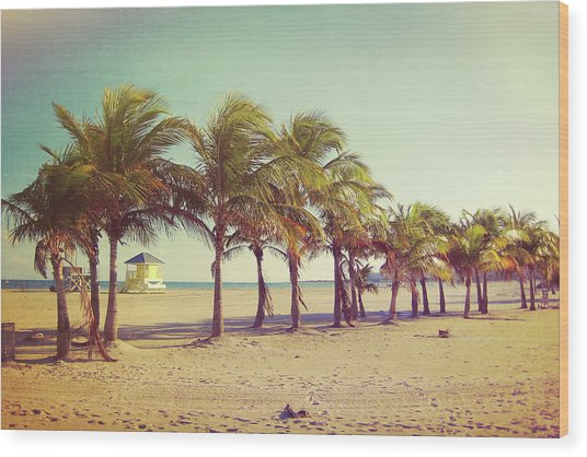 Perfect Beach Day Wood Print by JAMART Photography