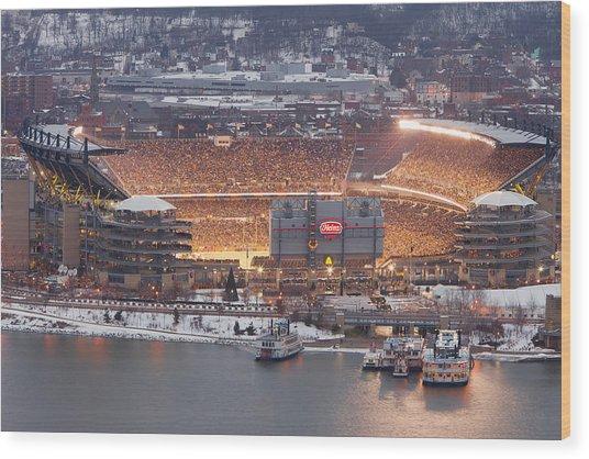 Pittsburgh 4 Wood Print