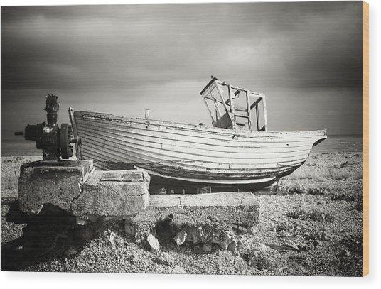 Projekt Desolate His N Hers  Wood Print by Stuart Ellesmere