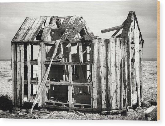 Projekt Desolate  Wood Print by Stuart Ellesmere