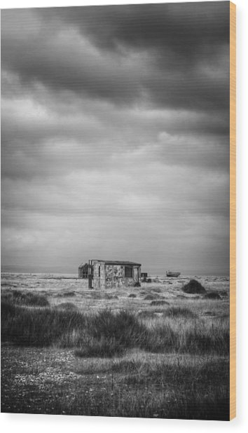Projekt Desolate The Range  Wood Print by Stuart Ellesmere