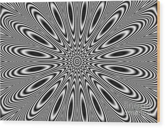Pulsar Wood Print