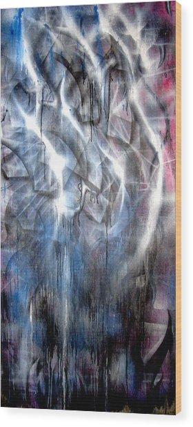 Rain IIi Wood Print by Leigh Odom