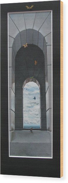 Refuge Angeles Wood Print by Boris Koodrin