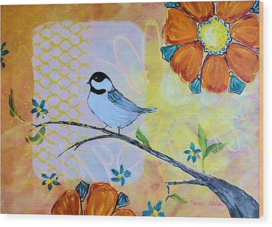 Rejoice Wood Print
