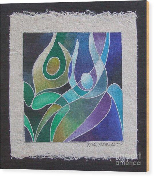 Reki Iv - Dance For Joy Wood Print