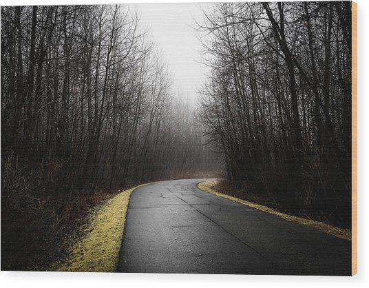 Roads To Nowhere Wood Print