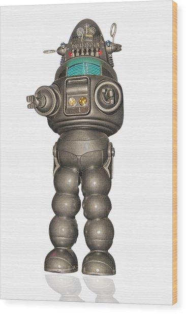 Robby The Robot Wood Print