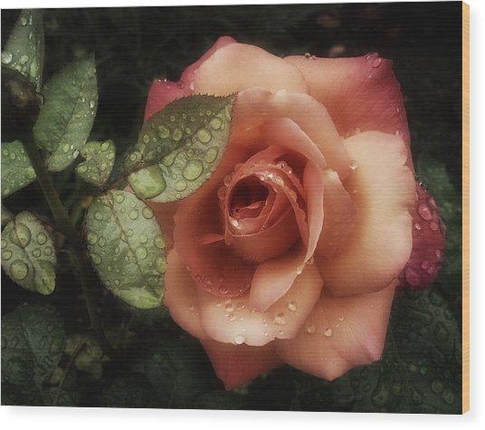 Romancing The Rose Wood Print