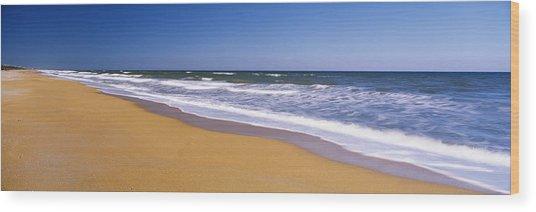 Route A1a, Atlantic Ocean, Flagler Wood Print
