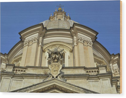 Saint Agnes Dome Wood Print by JAMART Photography