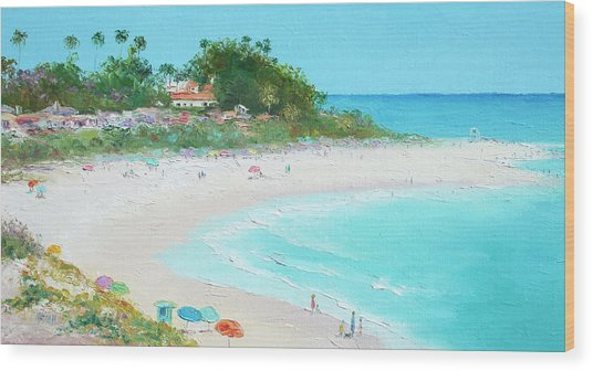San Clemente Beach California Wood Print