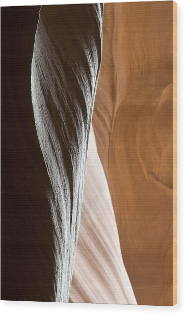 Sandstone Abstract Wood Print