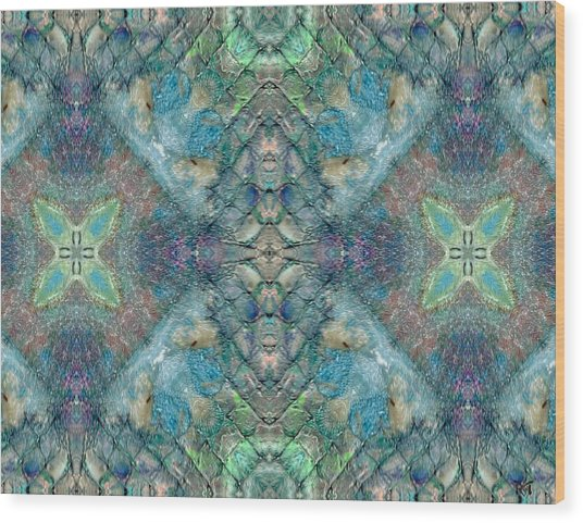 Seascape II Wood Print