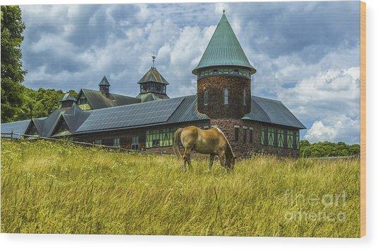 Shelburne Farms. Wood Print