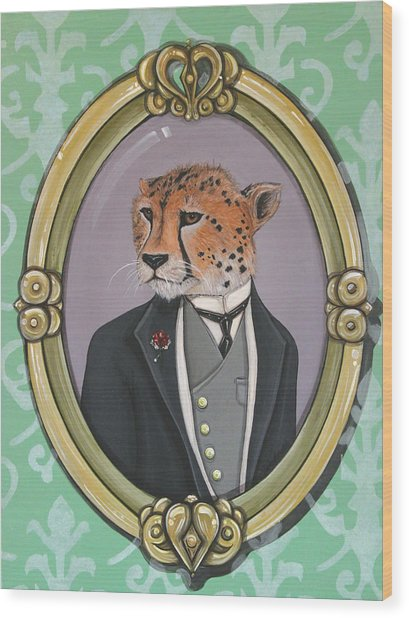 Sir Pettingwise IIi Wood Print