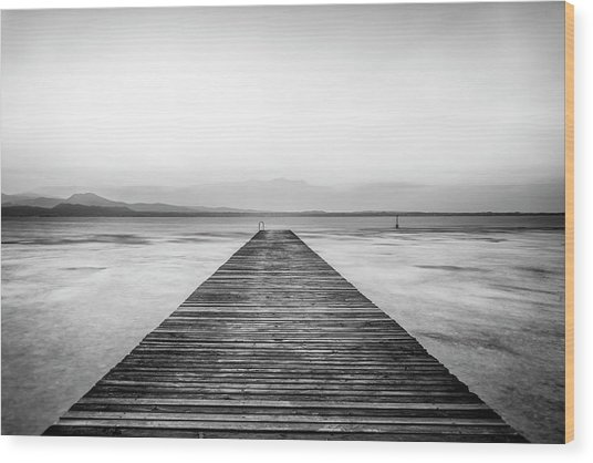 Wood Print featuring the photograph Sirmione by Traven Milovich