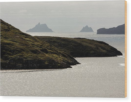 Skellig Islands, County Kerry, Ireland Wood Print