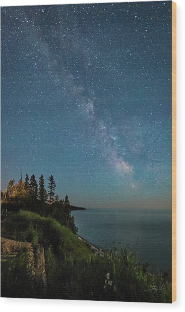 Wood Print featuring the photograph Sky Light by Doug Gibbons