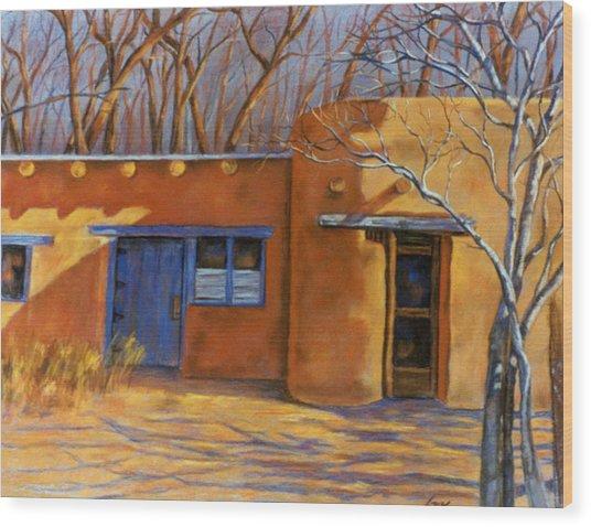 Sol Y Sombre Wood Print
