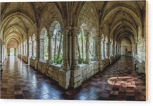 Spanish Monastery Wood Print