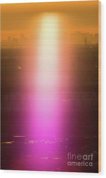 Spiritual Light Wood Print
