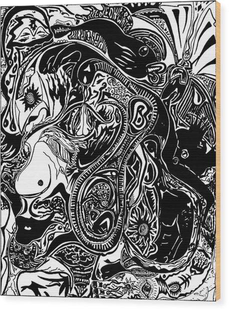 Spiritualbecoming Wood Print
