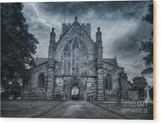 St Asaph Cathedral Wood Print