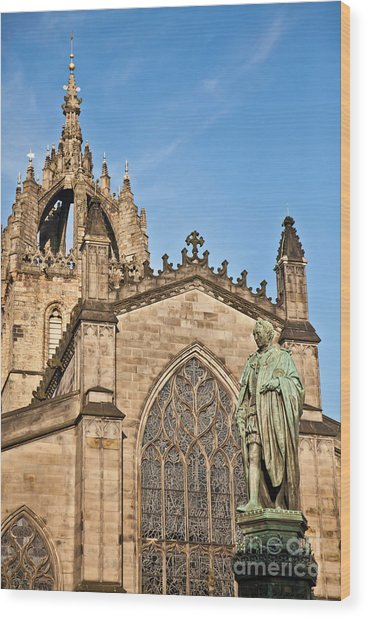 St Giles Cathedral  Edinburgh Wood Print
