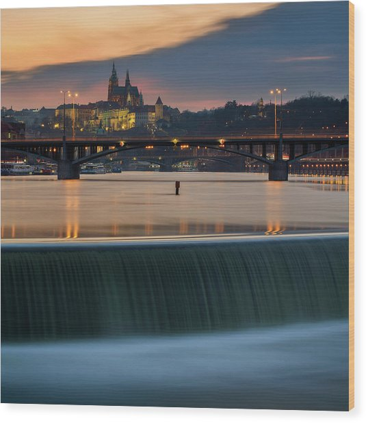 St. Vitus Cathedral, Prague, Czech Republic Wood Print