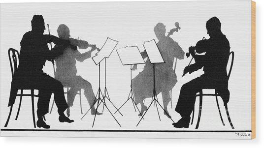 String Quartet, C1935 Wood Print
