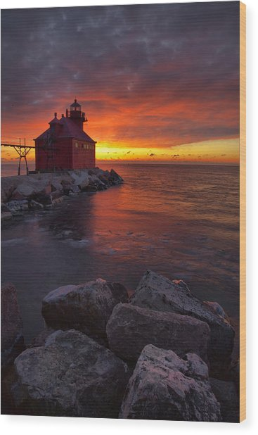 Sturgeon Bay 1 Wood Print