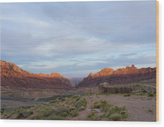 The Castles Near Green River Utah Wood Print