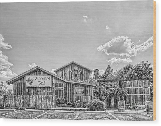 The Cotton Gin Village Wood Print