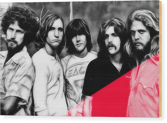 The Eagles Collection Wood Print