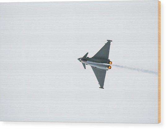 The Eurofighter Typhoon Wood Print