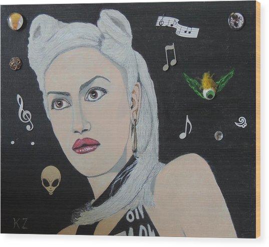 The Girl From Orange County.gwen Stefani. Wood Print
