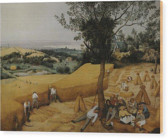 The Harvesters Wood Print