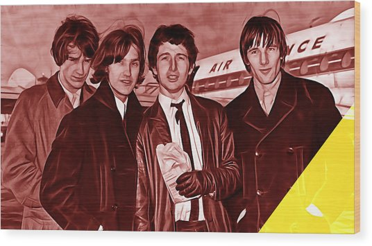 The Kinks Collection Wood Print